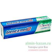 Зубная паста BLEND-A-MED 100мл 3D WHITE свежая мята P&G 1/6/24