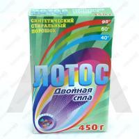 Порошок стиральный 450г для ручной стирки ЛОТОС 1/24