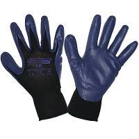 Перчатки рабочие с нитриловым покрытием размер 10 G40 СИНИЕ KIMBERLY-CLARK 1/12/60