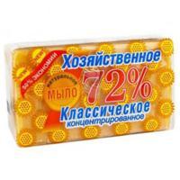 Мыло хозяйственное 150г 72% в упаковке СВЕТЛОЕ АИСТ 1/60