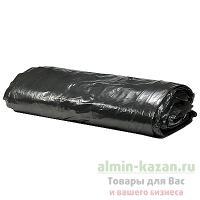 Мешок (пакет) мусорный   120л 700х1100 мм 50 мкм в пластах ПВД ЧЕРНЫЙ   1/50/200