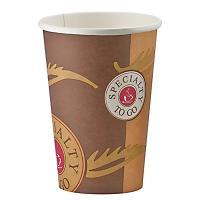 Стакан бумажный 400мл D90 мм 1-сл для горячих напитков COFFE-TO-GO HUHTAMAKI 1/50/1000