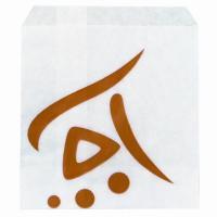 Пакет бумажный ДхВ 160х110 мм жиростойкий для картофеля фри с печатью WHIZZ с плоским дном БЕЛЫЙ HUHTAMAKI 1/2000