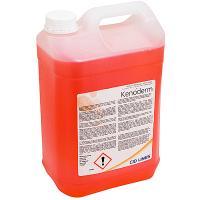 Мыло жидкое канистра 5л прозрачное с дезинфицирующим эффектом KENODERM канистра CID LINES 1/4