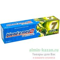 Зубная паста BLEND-A-MED 100мл КОМПЛЕКС 7 кора дуба P&G 1/6/24
