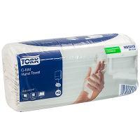 Полотенце бумажное листовое 2-сл 120 лист/уп 240х275 мм С-сложения TORK H3 ADVANCED (арт.471114) БЕЛОЕ SCA 1/20