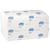 Полотенце бумажное листовое 2-сл 200 лист/уп 226х230 мм Z-сложения TORK H3 PREMIUM БЕЛОЕ SCA 1/15