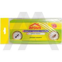 Средство от тараканов и муравьев   1 шт/уп ловушка клеевая домик ARGUS   1/120/600