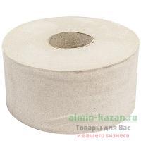 Бумага туалетная 1-сл 200 м в рулоне Н95хD180 мм СЕРАЯ 1/12