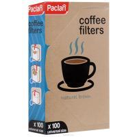 Фильтр для кофе 100 шт/уп для кофеварок капельного типа PACLAN 1/18