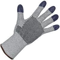 Перчатки рабочие 7 нитей с ПВХ (точка) размер 9 G60 ХБ+DYNEEMA СЕРЫЕ KIMBERLY-CLARK 1/12