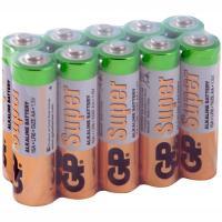Батарейка AA 10 шт/уп GP SUPER в пленке 1/1