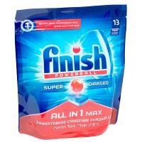Таблетки универсальные 13 шт/уп для посудомоечных машин FINISH CALGONIT ALL IN 1 пакет BENCKISER 1/7
