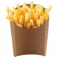 Упаковка для картофеля фри ДхШхВ 105х50х110 мм КРАФТ GDC 1/50/1000