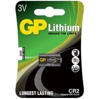 Батарейка CR2 1 шт/уп GP LITHIUM в блистере GP 1/10