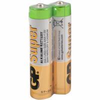 Батарейка AAA 2 шт/уп GP SUPER в пленке 1/10