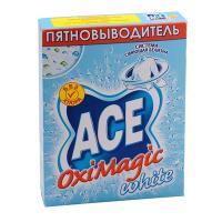 Пятновыводитель порошковый 500г для белого белья ACE OXI MAGIC P&G 1/20