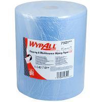 Материал протирочный бумажный 2-сл 190 м в рулоне Н380хD255 мм WYPALL L20 СИНИЙ KIMBERLY-CLARK 1/1