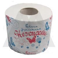 Бумага туалетная 1-сл НЕЖНОСТЬ СЕРАЯ 1/50