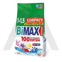 Порошок стиральный   3кг BiMAX автомат  100пятен в п/п   1/4