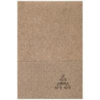 Салфетка бумажная 1-сл 200 шт/уп 170х170 мм для диспенсера GO GREEN КРАФТ MAPELOR 1/70