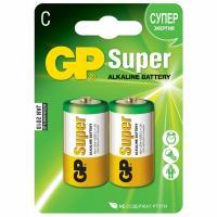 Батарейка C 2 шт/уп GP SUPER в блистере 1/10