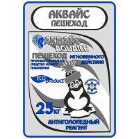 Реагент антигололедный до -25 С° 25кг АКВАЙС ПЕШЕХОД 1/1