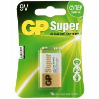 Батарейка 9V 1 шт/уп GP SUPER в блистере 1/10