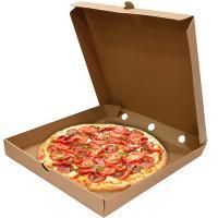 Коробка для пиццы ДхШхВ 330х330х40 мм квадратная КАРТОН КРАФТ 1/50