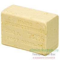 Мыло хозяйственное 250г 72% без упаковки СВЕТЛОЕ 1/48