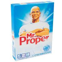 Порошок моющий для полов 400г Mr.PROPER с отбеливателем P&G 1/20