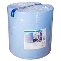 Материал протирочный бумажный 2-сл 340 м в рулоне Н369хD375 мм TORK СИНИЙ SCA 1/1
