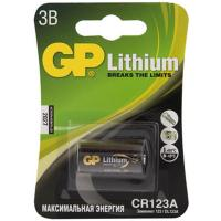 Батарейка CR12.3A 1 шт/уп GP LITHIUM в блистере GP 1/10