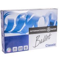Бумага А4 500 лист/уп 80 г/м2 BALLET CLASSIC БЕЛАЯ INTERNATIONAL PAPER 1/5